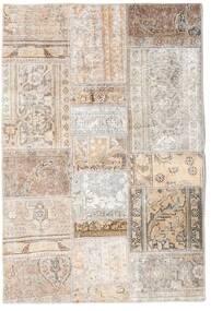 Patchwork - Persien/Iran Alfombra 105X156 Moderna Hecha A Mano Gris Claro/Beige (Lana, Persia/Irán)