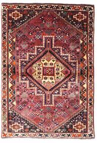 Gashgai Alfombra 107X156 Oriental Hecha A Mano Rojo Oscuro/Marrón Oscuro (Lana, Persia/Irán)