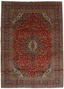 Keshan Alfombra 303X420 Oriental Hecha A Mano Marrón Oscuro/Rojo Oscuro Grande (Lana, Persia/Irán)