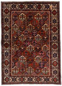 Bakhtiar Alfombra 153X212 Oriental Hecha A Mano Marrón Oscuro/Rojo Oscuro (Lana, Persia/Irán)