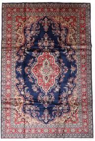 Hamadan Shahrbaf Alfombra 211X308 Oriental Hecha A Mano Violeta Claro/Negro (Lana, Persia/Irán)