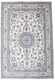 Nain Alfombra 191X286 Oriental Hecha A Mano Beige/Gris Claro (Lana, Persia/Irán)