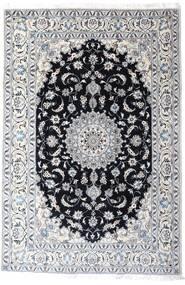 Nain Alfombra 200X297 Oriental Hecha A Mano Blanco/Crema/Gris Claro (Lana, Persia/Irán)