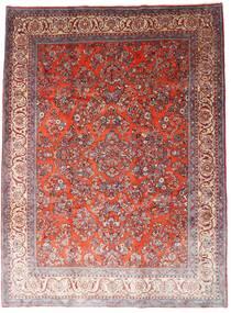Sarough Alfombra 260X348 Oriental Hecha A Mano Rojo Oscuro/Violeta Claro Grande (Lana, Persia/Irán)