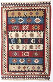 Kilim Vintage Alfombra 153X235 Oriental Tejida A Mano Rojo Oscuro/Púrpura Oscuro (Lana, Persia/Irán)