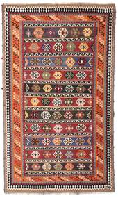 Kilim Vintage Alfombra 162X270 Oriental Tejida A Mano Rojo Oscuro/Marrón Oscuro (Lana, Persia/Irán)