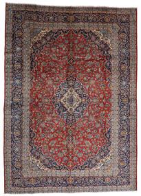 Keshan Alfombra 287X403 Oriental Hecha A Mano Rojo Oscuro/Marrón Oscuro Grande (Lana, Persia/Irán)