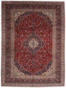 Keshan Alfombra 294X400 Oriental Hecha A Mano Rojo Oscuro Grande (Lana, Persia/Irán)
