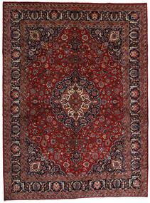 Mashad Alfombra 289X390 Oriental Hecha A Mano Rojo Oscuro/Gris Oscuro Grande (Lana, Persia/Irán)