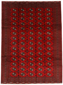 Turkaman Alfombra 252X338 Oriental Hecha A Mano Rojo Oscuro/Óxido/Roja Grande (Lana, Persia/Irán)