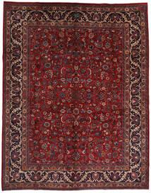 Mashad Alfombra 292X373 Oriental Hecha A Mano Rojo Oscuro/Negro Grande (Lana, Persia/Irán)