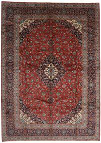 Keshan Alfombra 301X420 Oriental Hecha A Mano Rojo Oscuro/Gris Oscuro Grande (Lana, Persia/Irán)