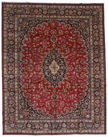 Mashad Alfombra 298X375 Oriental Hecha A Mano Rojo Oscuro/Marrón Grande (Lana, Persia/Irán)