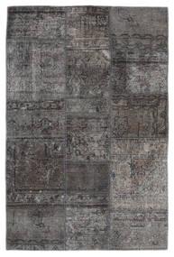Patchwork - Persien/Iran Alfombra 105X159 Moderna Hecha A Mano Gris Oscuro/Negro (Lana, Persia/Irán)