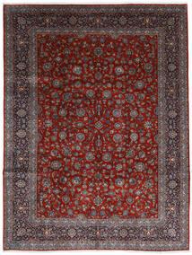 Keshan Alfombra 278X367 Oriental Hecha A Mano Rojo Oscuro/Marrón Oscuro Grande (Lana, Persia/Irán)