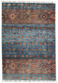 Shabargan Alfombra 103X152 Moderna Hecha A Mano Gris Claro/Gris Oscuro (Lana, Afganistán)