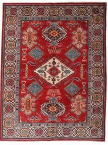 Kazak Alfombra 152X198 Oriental Hecha A Mano Rojo Oscuro/Marrón Oscuro (Lana, Afganistán)