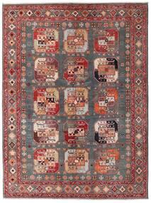 Kazak Alfombra 152X202 Oriental Hecha A Mano Rojo Oscuro/Marrón (Lana, Afganistán)