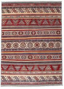 Kazak Alfombra 116X160 Oriental Hecha A Mano Rojo Oscuro/Marrón Oscuro (Lana, Afganistán)