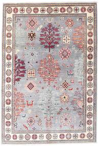 Kazak Alfombra 120X176 Oriental Hecha A Mano Violeta Claro/Rosa Claro (Lana, Afganistán)