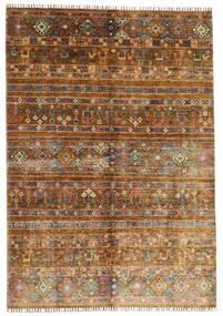 Shabargan Alfombra 169X242 Moderna Hecha A Mano Marrón/Marrón Oscuro (Lana, Afganistán)