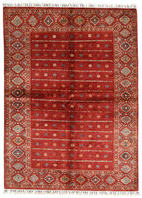Shabargan Alfombra 170X231 Moderna Hecha A Mano Óxido/Roja/Rojo Oscuro (Lana, Afganistán)