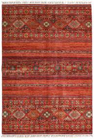 Shabargan Alfombra 163X234 Moderna Hecha A Mano Óxido/Roja/Rojo Oscuro (Lana, Afganistán)