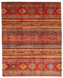 Shabargan Alfombra 249X310 Moderna Hecha A Mano Rojo Oscuro/Óxido/Roja (Lana, Afganistán)