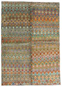 Moroccan Berber - Afghanistan Alfombra 171X243 Moderna Hecha A Mano Marrón/Gris Oscuro (Lana, Afganistán)