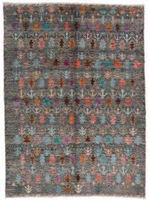 Moroccan Berber - Afghanistan Alfombra 170X240 Moderna Hecha A Mano Gris Oscuro/Gris Claro (Lana, Afganistán)