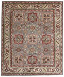 Kazak Alfombra 246X294 Oriental Hecha A Mano Marrón Claro/Gris Claro (Lana, Afganistán)