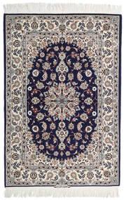 Isfahan Urdimbre De Seda Firmada: Intashari Alfombra 110X162 Oriental Hecha A Mano Gris Claro/Púrpura Oscuro (Lana/Seda, Persia/Irán)