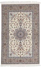 Isfahan Urdimbre De Seda Firmada Yazdani Alfombra 157X228 Oriental Hecha A Mano Gris Claro/Beige (Lana/Seda, Persia/Irán)