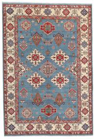 Kazak Alfombra 183X269 Oriental Hecha A Mano Marrón Oscuro/Azul (Lana, Afganistán)