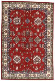 Kazak Alfombra 182X275 Oriental Hecha A Mano Óxido/Roja/Rojo Oscuro (Lana, Afganistán)