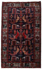 Hamadan Alfombra 131X213 Oriental Hecha A Mano Rojo Oscuro (Lana, Persia/Irán)