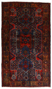 Hamadan Alfombra 111X197 Oriental Hecha A Mano Rojo Oscuro (Lana, Persia/Irán)