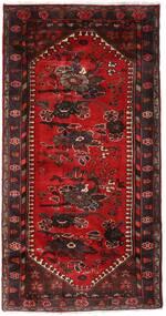 Hamadan Alfombra 102X193 Oriental Hecha A Mano Rojo Oscuro/Marrón Oscuro (Lana, Persia/Irán)