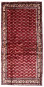 Sarough Mir Alfombra 107X215 Oriental Hecha A Mano Rojo Oscuro/Roja (Lana, Persia/Irán)