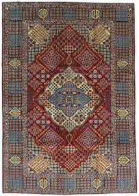 Keshan Alfombra 263X372 Oriental Hecha A Mano Marrón Oscuro/Marrón Claro Grande (Lana, Persia/Irán)