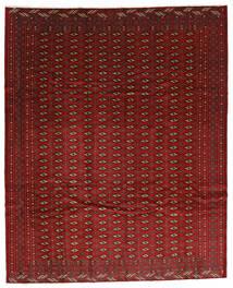 Turkaman Alfombra 270X334 Oriental Hecha A Mano Rojo Oscuro/Marrón Oscuro Grande (Lana, Persia/Irán)