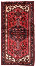 Hamadan Alfombra 101X192 Oriental Hecha A Mano Rojo Oscuro/Óxido/Roja (Lana, Persia/Irán)