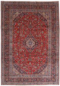 Keshan Alfombra 251X360 Oriental Hecha A Mano Rojo Oscuro/Púrpura Oscuro Grande (Lana, Persia/Irán)