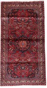 Kashmar Alfombra 107X200 Oriental Hecha A Mano Rojo Oscuro/Violeta Claro (Lana, Persia/Irán)