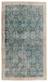 Vintage Heritage Alfombra 112X197 Moderna Hecha A Mano Gris Claro/Azul Turquesa (Lana, Persia/Irán)