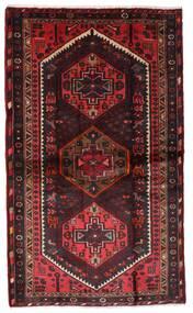 Hamadan Alfombra 110X185 Oriental Hecha A Mano Rojo Oscuro/Marrón Oscuro (Lana, Persia/Irán)