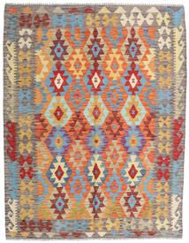 Kilim Afghan Old Style Alfombra 154X198 Oriental Tejida A Mano Beige Oscuro/Gris Claro (Lana, Afganistán)