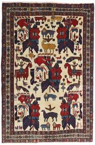 Afshar Alfombra 126X188 Oriental Hecha A Mano Gris Oscuro/Rojo Oscuro (Lana, Persia/Irán)