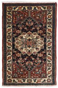 Asadabad Alfombra 81X121 Oriental Hecha A Mano Marrón Oscuro/Negro/Marrón Claro (Lana, Persia/Irán)