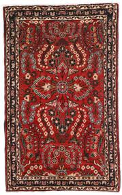 Lillian Alfombra 80X128 Oriental Hecha A Mano Marrón Oscuro/Rojo Oscuro (Lana, Persia/Irán)